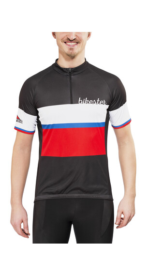 Bikester Basic Team Kortärmad cykeltröja Herr svart
